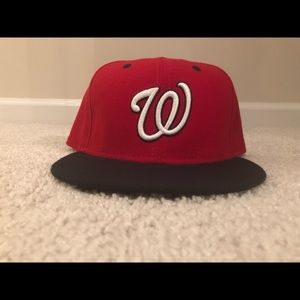 New Era Washington Nationals fitted cap